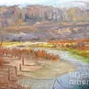 Bluff Canyon Overlook Art Print