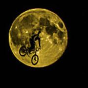 Bmx Moon Art Print