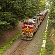 Bnsf Train 789 D Art Print