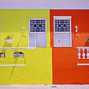 Bo Kaap House Art Print