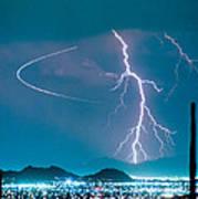 Bo Trek The Lightning Man Art Print