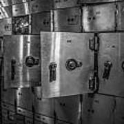 Chicago Board Of Trade Deposit Boxes Art Print