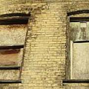 Boarded Windows 2 Art Print