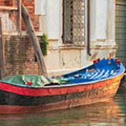 Boat At Rest Art Print