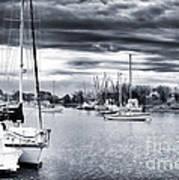 Boat Blues Art Print