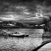 Boat Dock At Sperry Chalet 2 Art Print