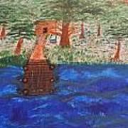 Boat Dock Art Print