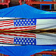 Boat For Freedom  Art Print