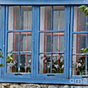Boat House Windows Art Print