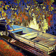 Boat Number 12 Art Print
