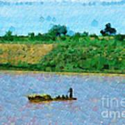 Boat Painting Art Print