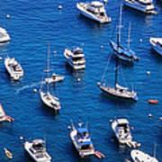 Boat Parking Art Print