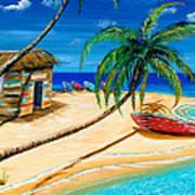 Boat Rent Art Print