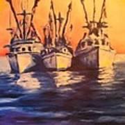 Boat Series 1 Second Edition Art Print