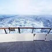 Boat Stern Art Print