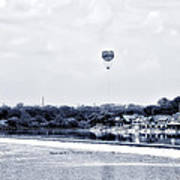 Boathouse Row And The Zoo Balloon Art Print