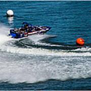 Boatnik Races 1 Art Print