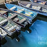 Boats At Bar Harbor Maine Art Print