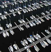 Boats At Nepean Sailing Club Art Print
