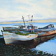 Boats At Rest Art Print