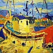 Boats II Art Print