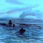 Boats On The Chesapeake Bay Art Print