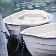 Boats Print by Priska Wettstein