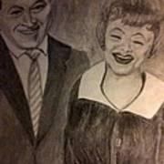 Bob And Lucy Art Print