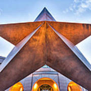 Texas Star  Art Print