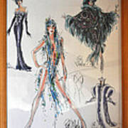 Bob Mackie Design Art Print