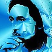 Bob Marley Portrait Art Print by Stefon Marc Brown