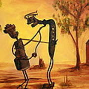 Bob 'n' Betty - Broken Hill Art Print