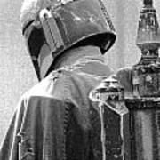 Boba Fett Costume 3 Art Print