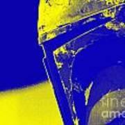 Boba Fett Helmet 20 Art Print