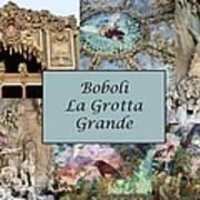 Boboli La Grotta Grande 1 Art Print
