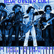 Boc #103 In Blue With Text Art Print