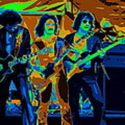 Boc #3 Enhanced In Cosmicolors Crop 2 Art Print