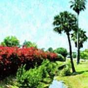 Boca Grande Floral Art Print