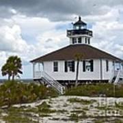 Boca Grande Lighthouse II Art Print