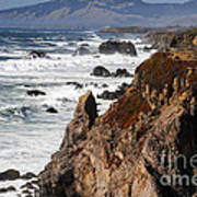 Bodega Bay Color Art Print
