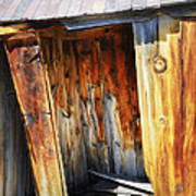 Bodie Decaying Privy Art Print