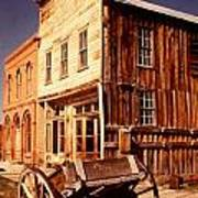 Bodie Ghost Town Wagon Art Print