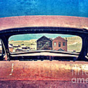 Bodie Through Car Window Art Print