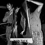 Body Talk Poster Prize Jello Wrestling Contest Gay Bar Tucson Arizona July 4th 1992 Art Print