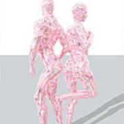 Bodybuilding-linie-mixa Art Print
