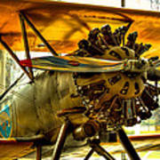 Boeing 100p Fighter Art Print