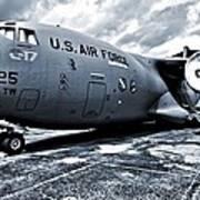 Boeing C-17 Airplane Art Print