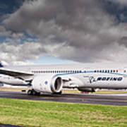 Boeing Dreamliner 787 Art Print