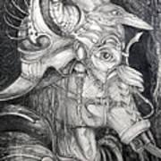 Bogomils Duckhunting Mask Art Print