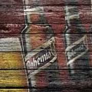 Bohemia Beer Art Print